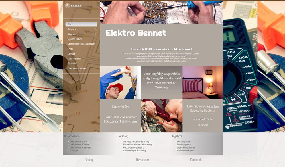 Homepage Designer Screenshot 2